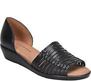 Comfortiva Leather Huarache Sandals - Fayann - A412678