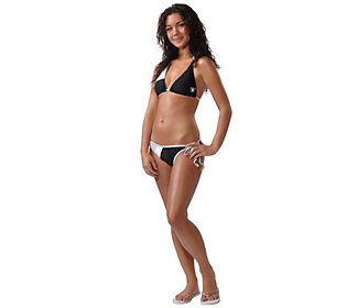 Nfl oakland raiders womens bikini qvc com