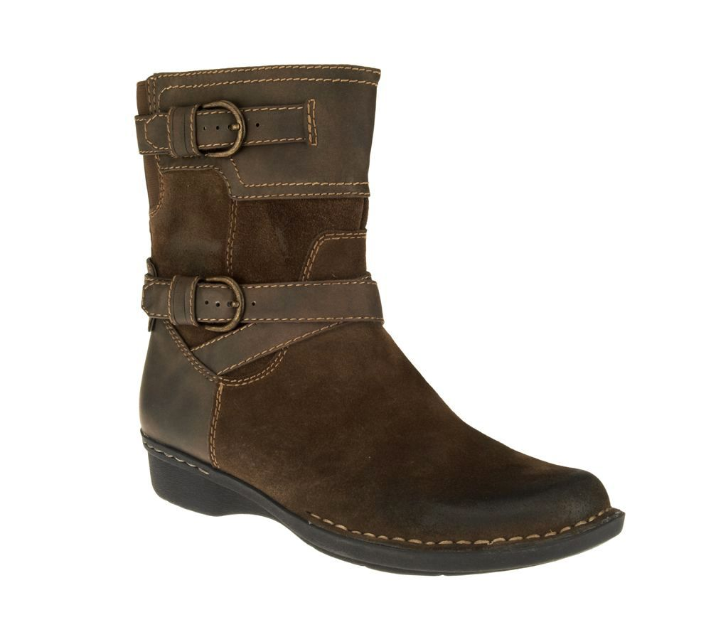 Clarks Suede Ankle Boots - Whistle Ranch