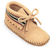 Minnetonka Infants Braid Booties - A241279