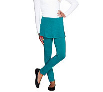LOGO Littles by Lori Goldstein Knit Leggings with Skirt - A255479