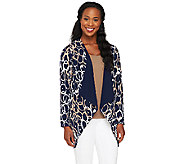 Attitudes by Renee Cascade Front Reversible Jacket - A258879