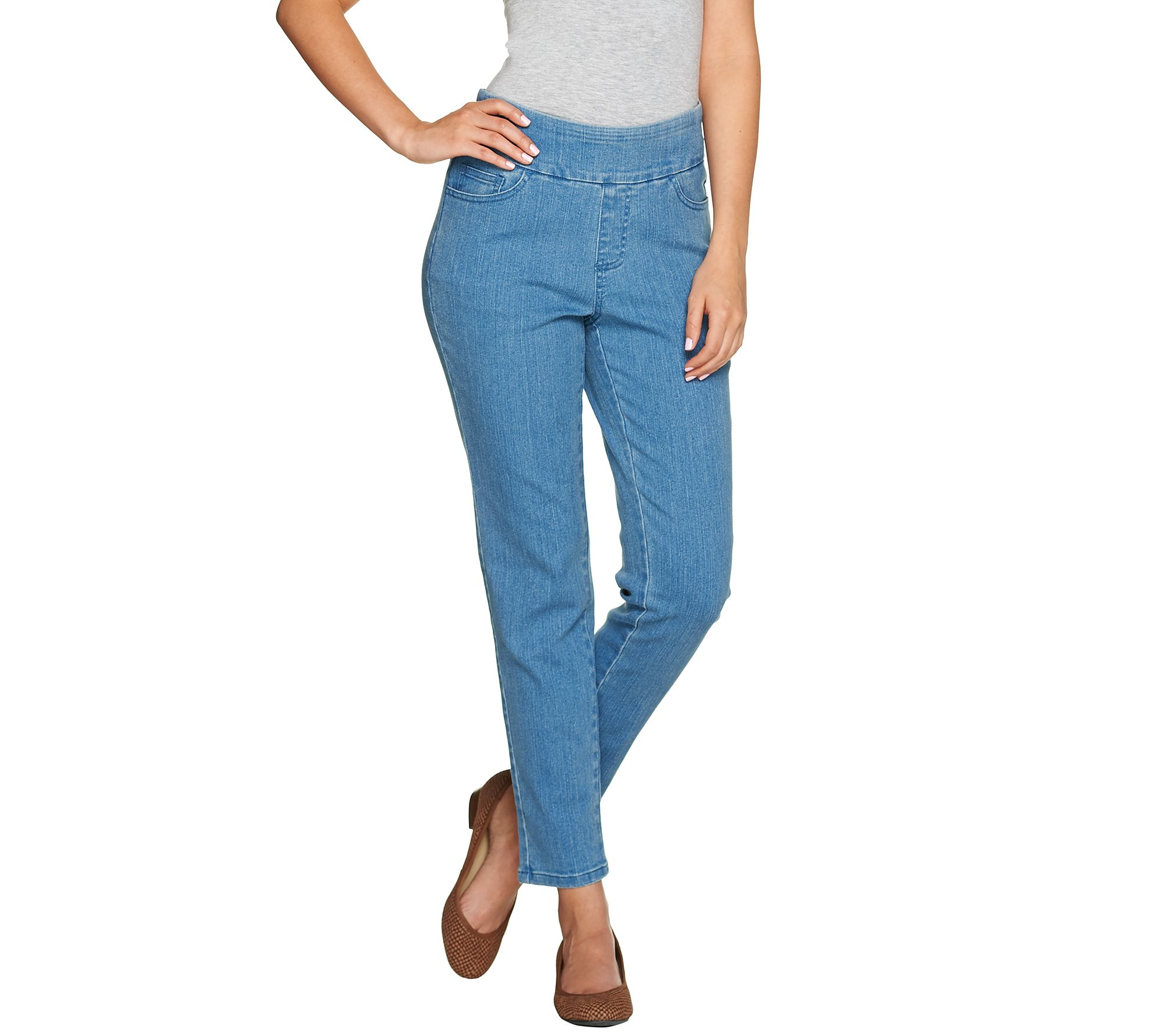 Denim Amp Co Quot How Smooth Quot Denim Regular Ankle Jeans Page