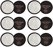 Josie Maran Set of 6 Body Butters 2 oz. - A283979