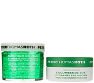 Peter Thomas Roth Cucumber Detox Gel Mask and Eye Patch Set - A286179