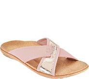 Spenco Orthotic Neoprene Slide Sandals - Lingo - A288079