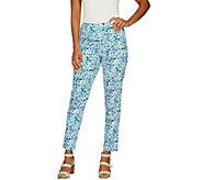 C. Wonder Regular Nantucket Floral Print Ankle Pants - A291079