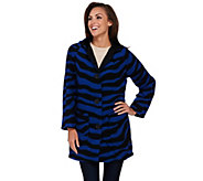 As Is Linea by Louis Dell Olio Hooded Printed Coat - A291779
