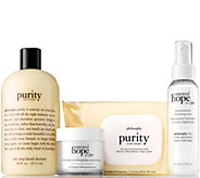 philosophy purity & hope on-the-go 4 pc skincare collection - A298779