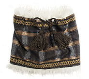 MUK LUKS Womens Two-Color Marl Neck Warmer - A337579