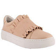 Azura by Spring Step Leather Slip-on Sneakers -Cinch - A363279