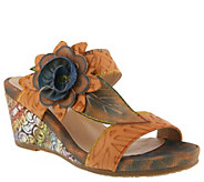 LArtiste by Spring Step Leather Sandals -  Shayla - A363679