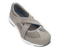 As IsRyka Nub uck Leather & Mesh Double Gor e Mary Janes - A222480