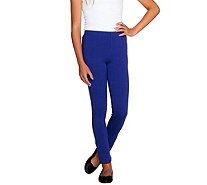 LOGO Littles by Lori Goldstein Knit Pull-On Slim Pants - A255480