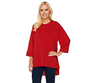 Attitudes by Renee Hi-Low Hem Blouse - A258880