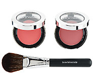 bareMinerals Pop of Passion Blush Balm Duo with Brush - A261180