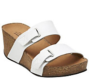 Clarks Slide Wedges w/ Two Adjustable Straps - Auriel Till - A265280