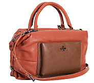 orYANY Italian Grain Leather Satchel - Tanya - A266680