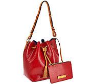 As Is Dooney & Bourke Siena Serena Drawstring Bag - A272680