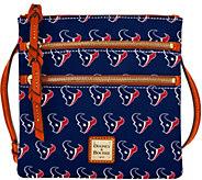 Dooney & Bourke NFL Texans Triple Zip Crossbody - A285680