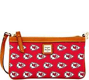 Dooney & Bourke NFL Chiefs Large Slim Wristlet - A285780