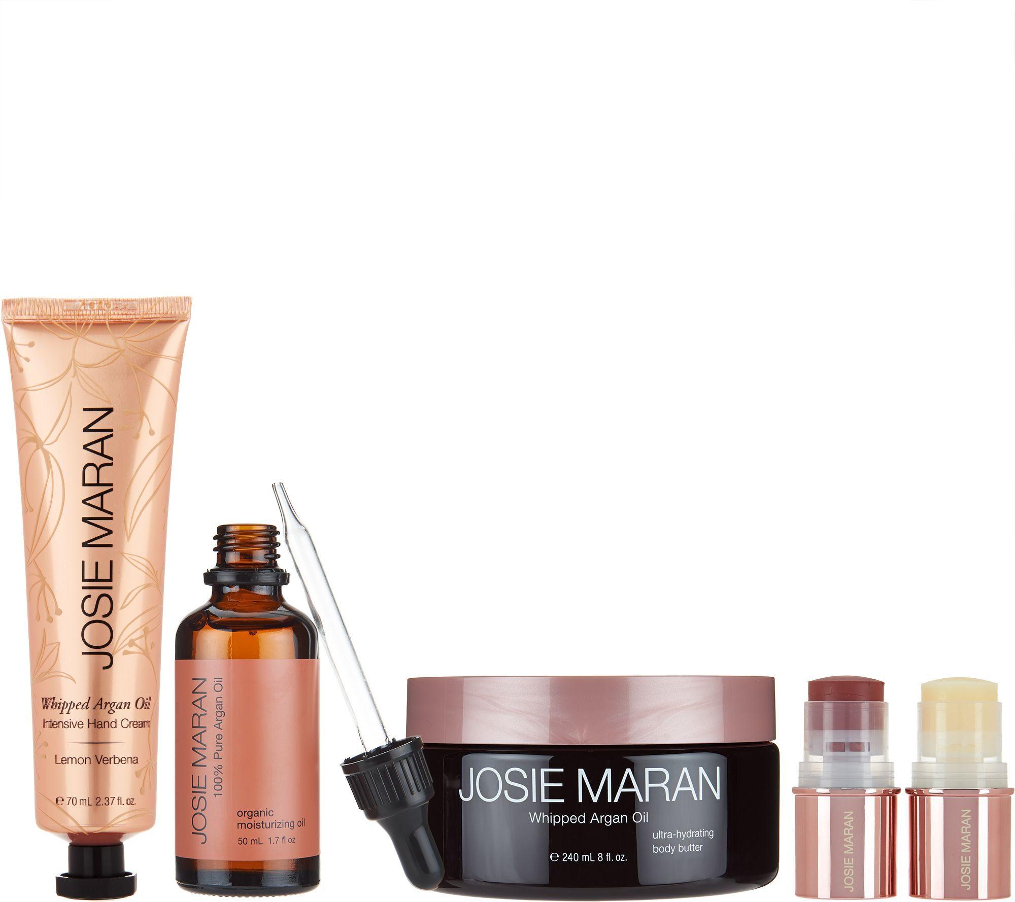 New customer qvc promo code - Josie Maran Irresistible Argan Skin Body Collection A288380