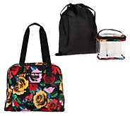Vera Bradley Travel Bag w/ 3-1-1 Cosmetic Bag - A289180