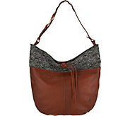 ED Ellen DeGeneres Leather Brea Hobo Handbag - A297180