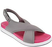 Ryka Neoprene Cross-Band Sandals - Leisure - A303280