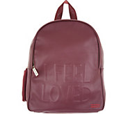 Peace Love World Backpack with Affirmation - A305180