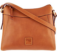 As Is Dooney & Bourke Florentine Leather Small Hobo-Cassidy - A310180