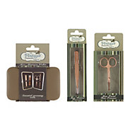 The Vintage Cosmetic Company Mens Grooming Set - A355680