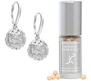Lisa Hoffman Sterling Silver Flora Fragrance Earrings - A358480