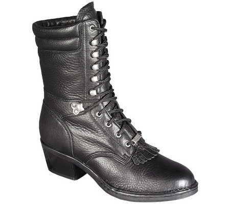 Amazing Double H Motorcycle Boots Women39s Size 75 M By TimeLordsVintage