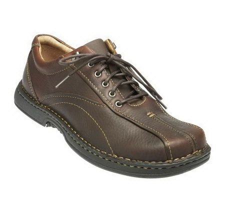 clarks s nebulae leather lace up shoe page 1 qvc