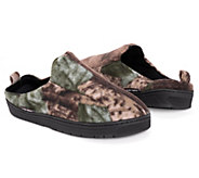 QuietWear Mens Camo Clog with Fleece Lining - A170081