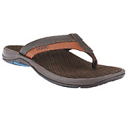 Vionic w/ Orthaheel Mens Orthotic Thong Sandals - Joel - A254881