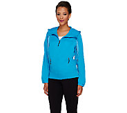 cee bee CHERYL BURKE Water Resistant Zip Up Jacket - A264181