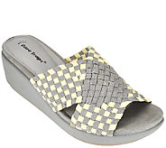 BareTraps Woven Fabric Wedge Sandals - Ellsa - A265481