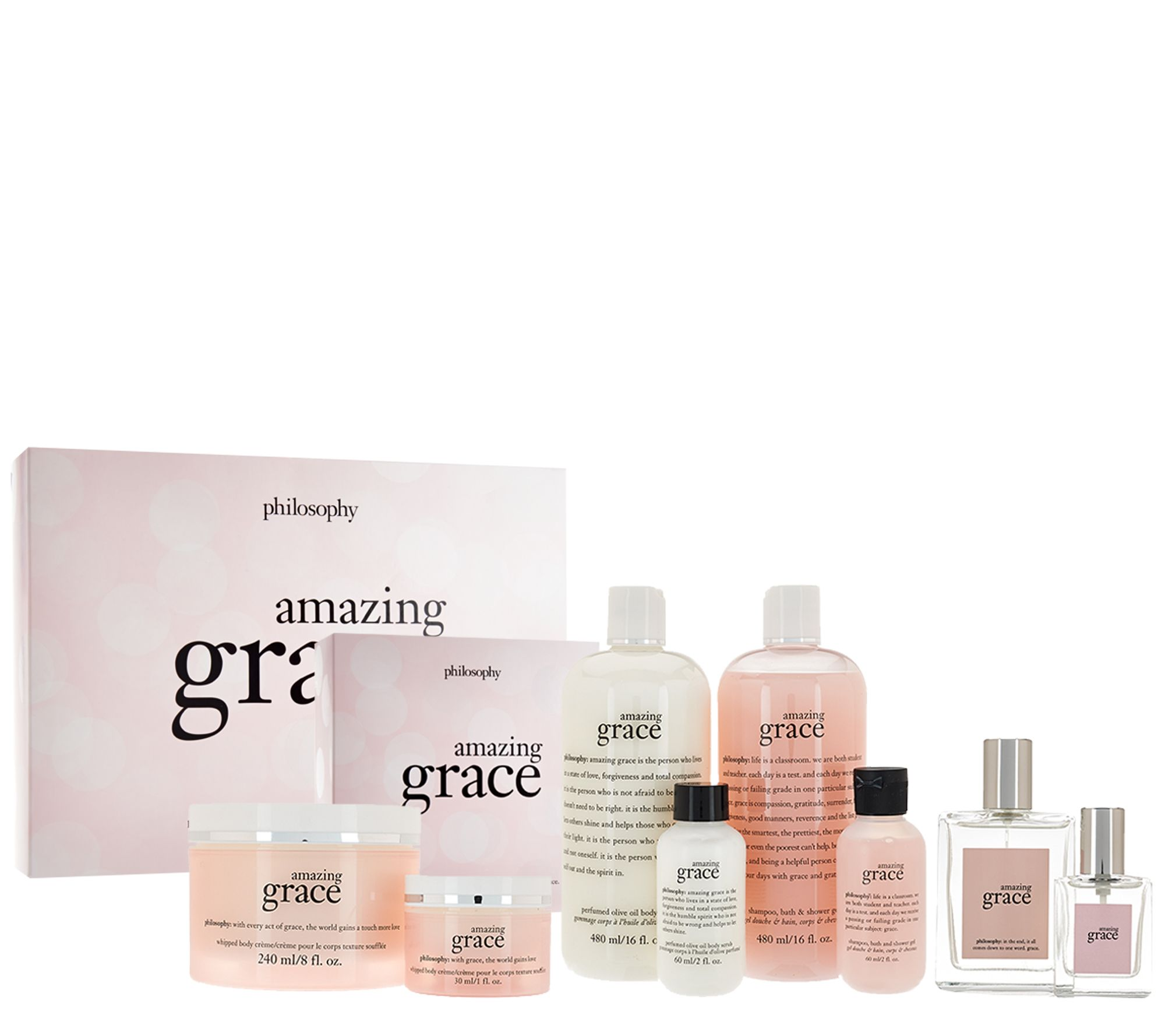 philosophy 8 piece grace & love fragrance collection - A268981