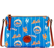 Dooney & Bourke MLB Nylon Mets Crossbody Pouchette - A281581