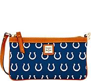 Dooney & Bourke NFL Colts Large Slim Wristlet - A285781