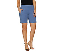Women with Control Tummy Control Shorts with Pockets - A292381