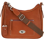 As Is Dooney & Bourke Florentine Toscana Large Crossbody Hobo - A292881