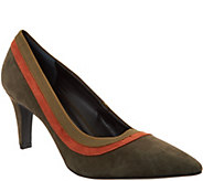 Lori Goldstein Collection Pumps with Contrast Trim Detail - A295781