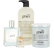 philosophy illuminate with grace and love 4pc fragrance layering kit - A299081