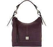 Dooney & Bourke Pebble Leather Hobo Handbag- Gracie - A300281