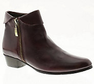 Spring Step Stockholm Leather Ankle Boots - A329881
