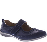 Spring Step Leather / Suede Mary Janes - Imagine - A334281