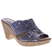 Spring Step Nubuck Sandals - Magnetism - A335681